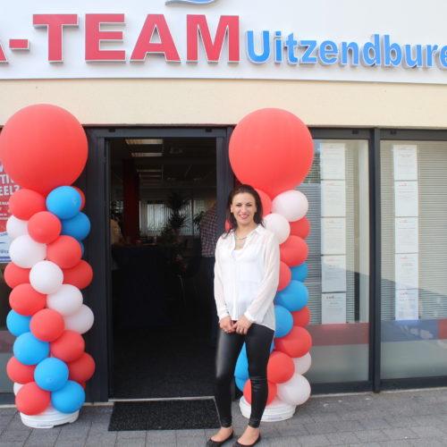 Fatma Akinci bij opening A-Team
